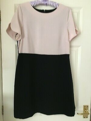 £5.99 • Buy Twiggy Collection From M & S Two Tone Dress Size 14
