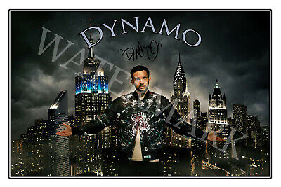 £13.58 • Buy Dynamo Signed 12x18 Inch Photograph Poster- Top Quality