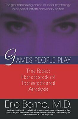 £12.35 • Buy Games People Play: The Psychology Of Human Relationships By Eric Berne New Book