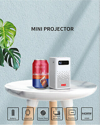 £179.89 • Buy 4K 3D Full HD Smart DLP Mini Projector LED Android WiFi 1080P Home Theater HDMI