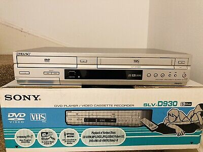 £79.99 • Buy Sony SLV-D930 DVD VHS VCR Recorder Combi  With Remote, Instructions & Box