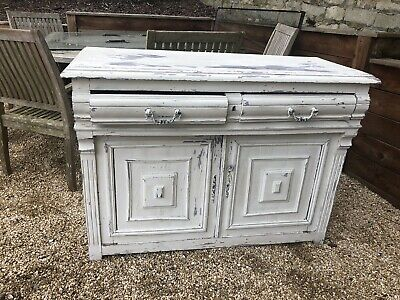 £165 • Buy Beautiful Large Antique French Hand Painted Cabinet/ Sideboard