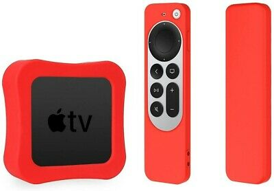 AU18.99 • Buy Silicone Case TV Box Case For 2021 Apple TV 4K 5Th 4Th Generation Shockproof
