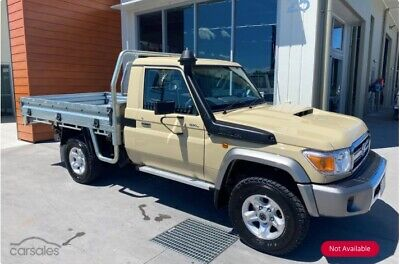 AU1000 • Buy 2020 GXL Landcruiser LC79 Single Cab Mag Wheels And Tyres