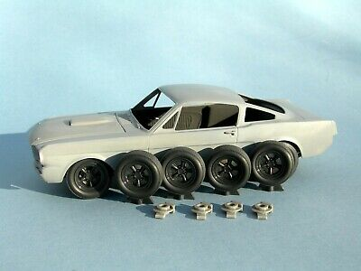 £12.50 • Buy 1/24 Revell 1966 Ford Mustang Shelby GT-350 Replacement Wheels With Disc Brakes