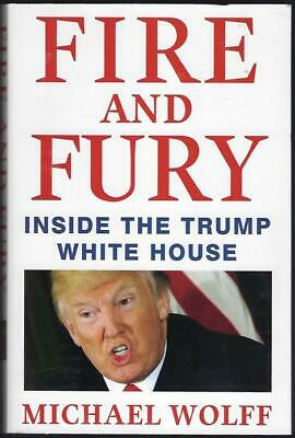 AU16.95 • Buy Fire And Fury Book By Michael Wolff (Inside The Trump White House)