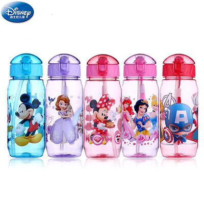 £7.88 • Buy Cartoons Child Plastic Water Straw Cup Student Portable Drinking Water Bottle