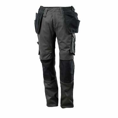 £75.99 • Buy Mascot Kassel Trousers Work Site Safety Available In Black Navy & Anthracite