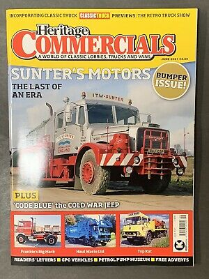 £8.99 • Buy Heritage Commercials Magazine Issue June 2021