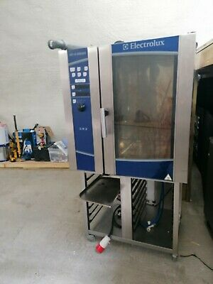 £1400 • Buy £1400 Electrolux Air O Steam 10 Grid Electric Combi Oven + Stand Refurbished