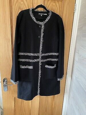 £120 • Buy Karl Lagerfeld Jacket (Chanel Style) Worn Once Boucle Style Large With Tags