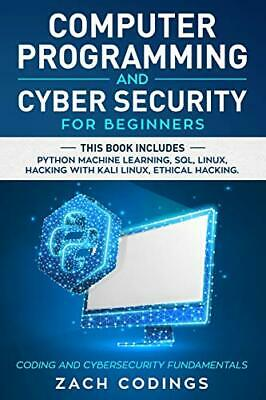 £20.99 • Buy Computer Programming And Cyber Security For Beginners: This ... By Codings, Zach
