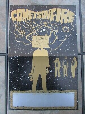 £3.54 • Buy Comets On Fire Self Titled 2001 Poster On Alternative Tentacles Records