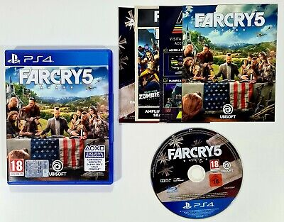 AU28.36 • Buy SONY PlayStation 4 Spiel FARCRY 5 Dt PAL Open World Shooter/Hope County/Preacher