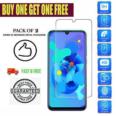 £1.95 • Buy For Huawei P30 Lite P Smart P20 Pro P10 Lite TEMPERED GLASS SCREEN PROTECTOR