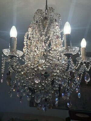 £340 • Buy Crystal Chandelier Made With Swarovski Crystals