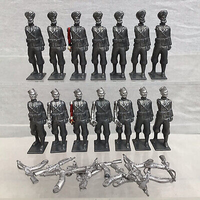 £39.95 • Buy 14 Britains Metal Lead Toy Soldiers Mid Conversion Restoration Indian Sikhs #419