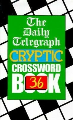 £7.99 • Buy Daily Telegraph Cryptic Crossword Book 36 By Telegraph Group Limited Paperback