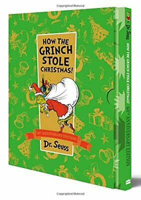 £8.99 • Buy How The Grinch Stole Christmas! Slipcase Edition (Dr Seuss) By Seuss, Dr. Book