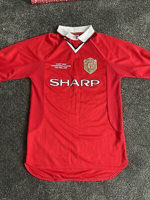 £10 • Buy Manchester United Champions League 1999