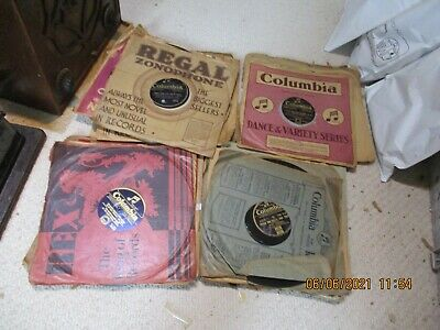 £19.99 • Buy 25 Early Columbia 78rpm Dance Gramophone  Phonograph Records
