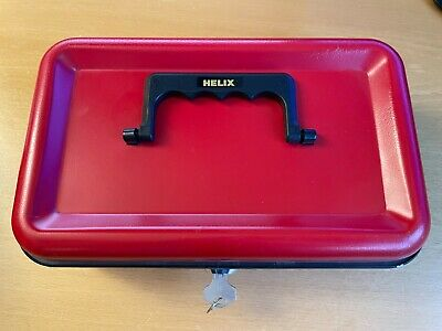 £7 • Buy Helix Red Lockable Money Box Or Sage With Key Lock