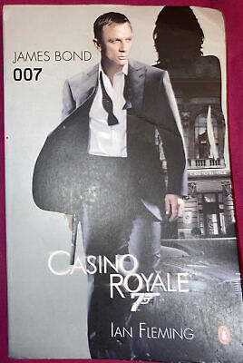 £5 • Buy Casino Royale James Bond 007 Book By Ian Fleming. ( Promotional Copy Book )