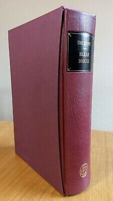 £29.99 • Buy Folio Society - DICKENS BLEAK HOUSE - ¼ Bound Leather - 2nd Printing 2005