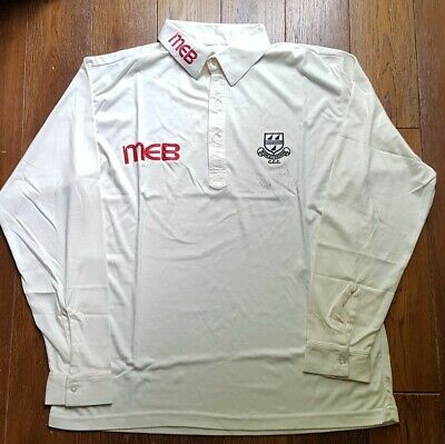 £34.99 • Buy Signed Phil Neale Worcestershire County Cricket Club Shirt Large