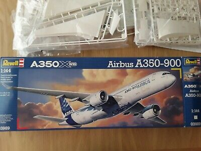 £5 • Buy Revell Airbus A350-900,scale 1:44,good Condition,boxed,all Parts In Sealed Bags