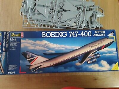 £48 • Buy Revell Airbus Boeing 747-400. British Airways, Good Condition,boxed.