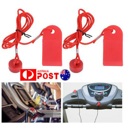 AU11.98 • Buy 2XTreadmill Safety Safe Key Magnet Running Machine Magnetic Security Switch Lock
