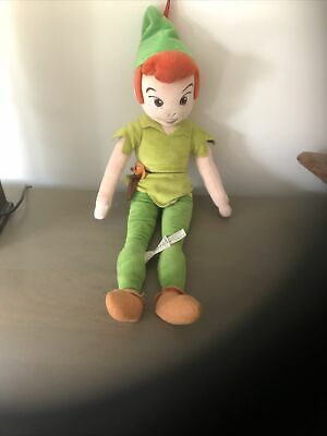£7 • Buy Disney Store Peter Pan Soft Toy Doll Large 21  Rare Official Plush Collectable