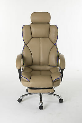 AU139.99 • Buy Office Chair Gaming Computer Desk Chairs Study Chair PU Leather Recliner Seat