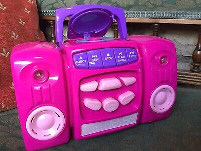 £6 • Buy Chad Valley My First Music Boombox Cd Player ~ Lights & Sounds 18+ Months