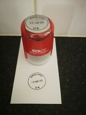 £5 • Buy England UK Self-inking Date Stamp To 2028 🏴