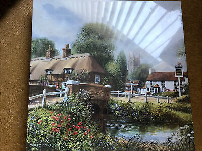 £4.50 • Buy Gibsons 1000 Piece Jigsaw Puzzle Heart Of The Village Terry Harrison Complete
