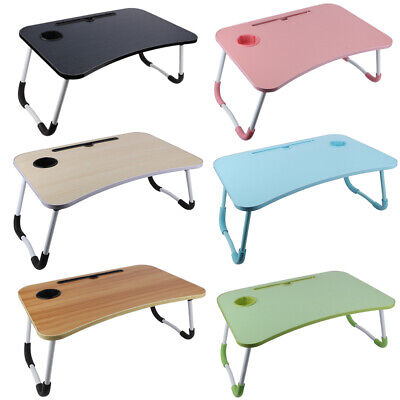 £8.99 • Buy Portable Laptop Stand Lazy Lap Sofa Bed Adjustable PC Notebook Desk Table Tray