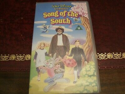 £75 • Buy Song Of The South VHS Video - Rare Walt Disney Classics Collectable PAL