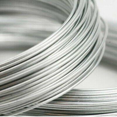 £0.99 • Buy Silver Wire Jewellery Craft Bead Finding Choice Of 0.8mm &1.2mm BUY 1 GET 1 FREE