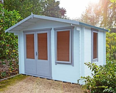 £1519 • Buy Shire Berryfield 11x8 19mm Timber Log Cabin Summerhouse A