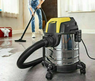 £49.50 • Buy New! Parkside Wet Dry Vacuum Cleaner PWD 12 A1 1200W Includes Accessories