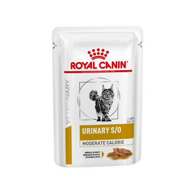 £42.47 • Buy Royal Canin Urinary S/O Moderate Calorie VHN Cat Food 48 X 85g Pouches