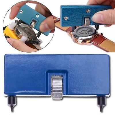 £3.99 • Buy Adjustable Watch Back Case Opener Remover Battery Change Tool Wrench Repair Kit