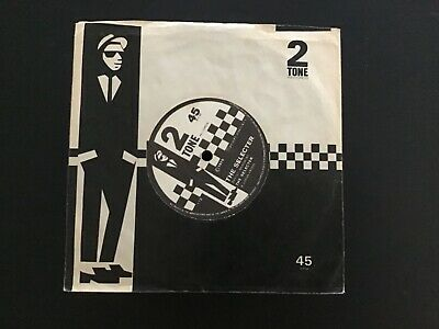 £5 • Buy The Specials - Gangsters/The Selecter - Original UK 7' - Two-Tone Sleeve