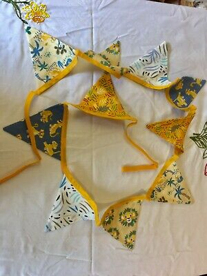 £7 • Buy Disneys Lion King Bunting Double Sided Cotton Handmade