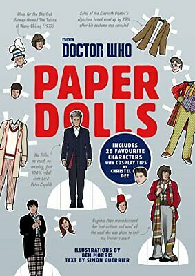 £12.36 • Buy Doctor Who Paper Dolls By Simon Guerrier Christel Dee New Book