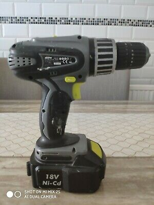 £11 • Buy Challenge Xtreme 18v Cordless Hammer Drill, Battery, Charger & Case - Used