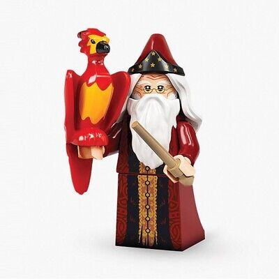 £3.99 • Buy Lego Harry Potter 71028 Series 2 Dumbledore & Fawkes New/Sealed Minifigure