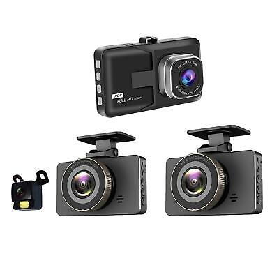 AU25.29 • Buy Dual Dash Cam For Cars Front And Rear With Night Vision 1080P HD Mini In Car